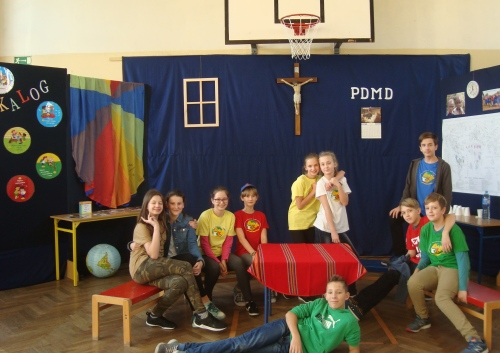 Tydzień misyjny w Szkole Podstawowej nr 1 w Zielonce
