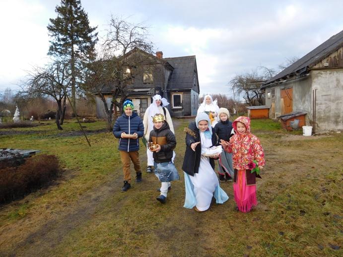Kolędowanie misyjne na Łotwie