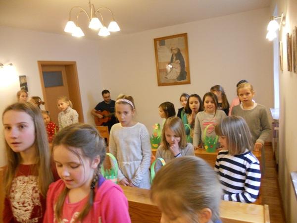"""""""Przystań dla dzieci"""" w Józefowie – w intencji ewangelizacji Wschodu.."""