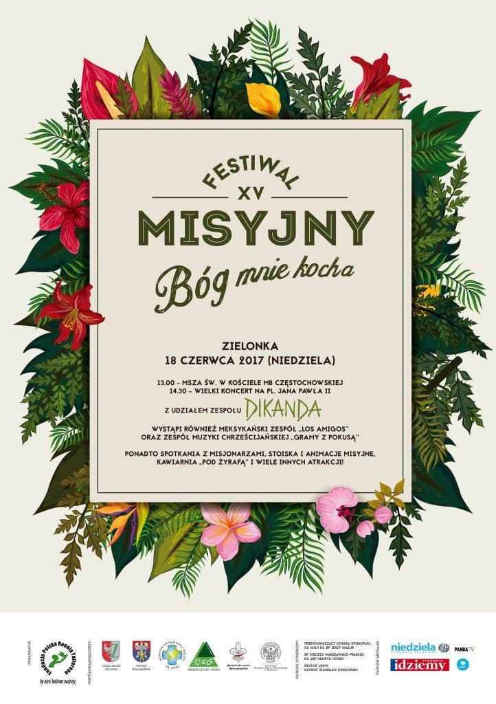 Zaproszenie na Festiwal misyjny