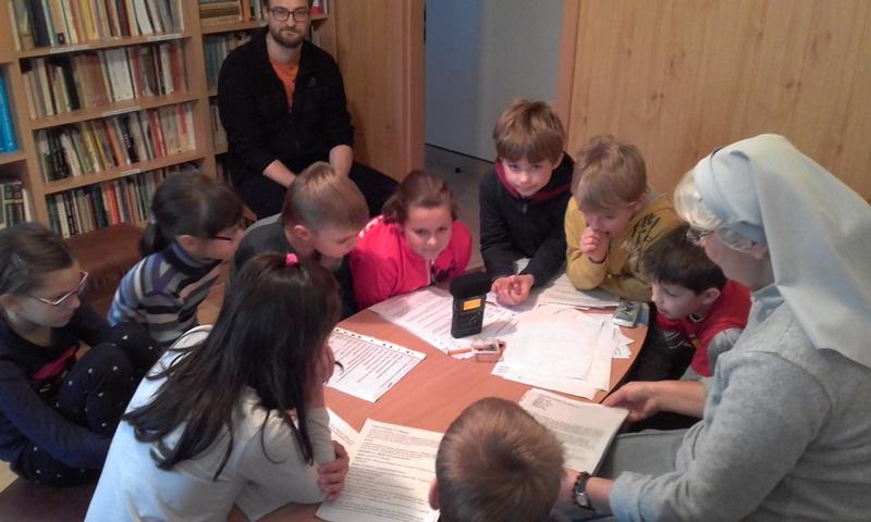 Audycja z Małym Wolontariatem Misyjnym w Józefowie