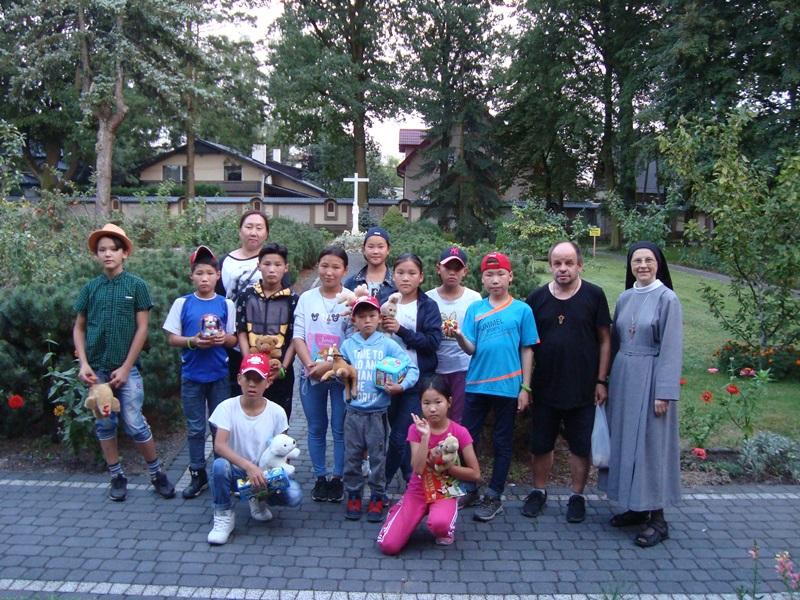 Goście z Mongolii