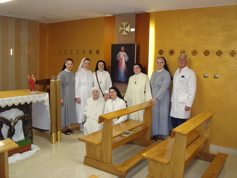 Wizyta w wołomińskim hospicjum Sióstr Orionistek.