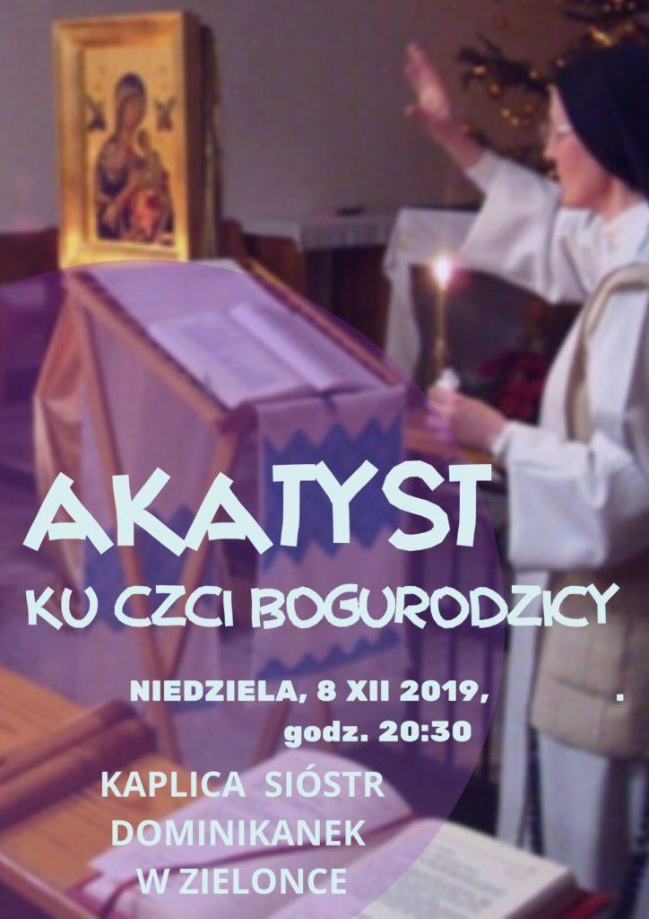 Zapraszamy na modlitwę Akatystem