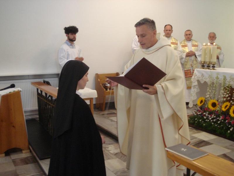 Uroczystość św. Ojca Dominika i pierwsze śluby s. Marii Katarzyny