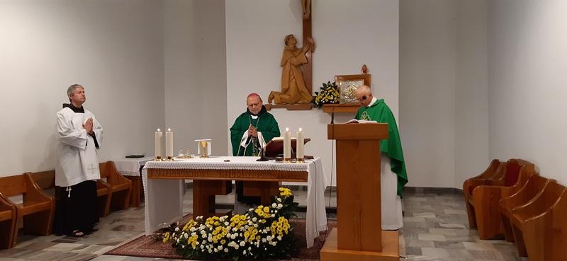 Wizyta ks. biskup Tadeusza Kusego OFM