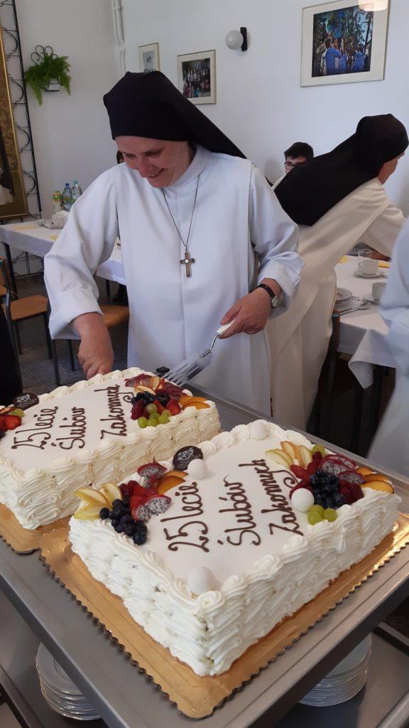 25 – lecie ślubów zakonnych